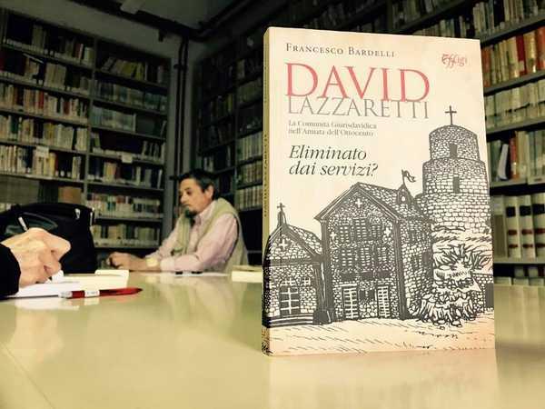 """""""David Lazzaretti eliminato dai servizi?"""": Francesco Bardelli presenta il suo libro"""