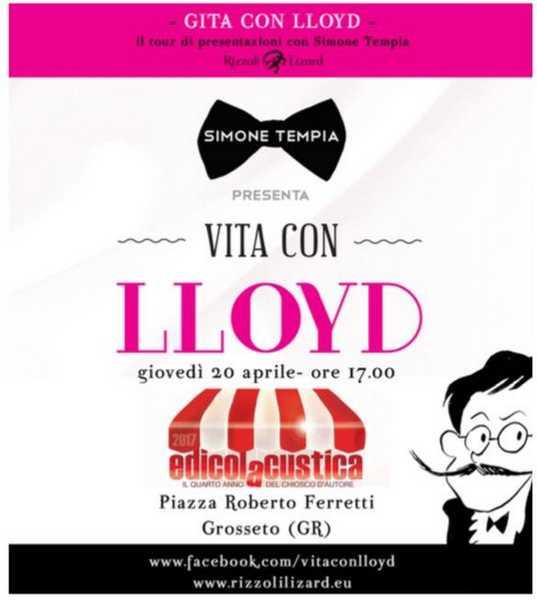 """""""Il Libro delle Cinque"""": ad EdicolAcustica Simone Tempia presenta """"Vita con Lloyd"""""""