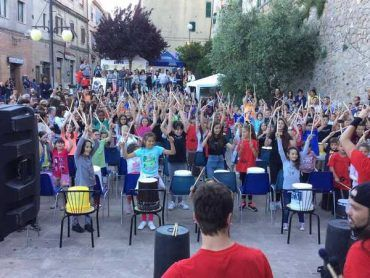 Il Manciano Street Music Festival entra nelle scuole e fa suonare 700 bambini
