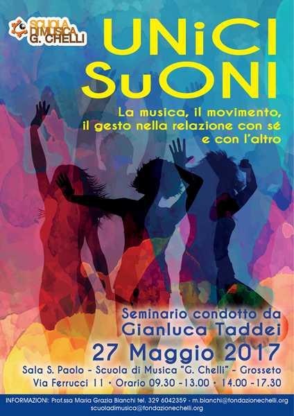 """""""Unici suoni"""": ecco il seminario per studiare la musica, i gesti e i movimenti"""