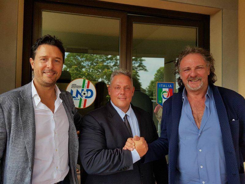 Calcio a Grosseto, posta la prima pietra per la rinascita: sindaco, assessore e Mario Ceri alla Lnd