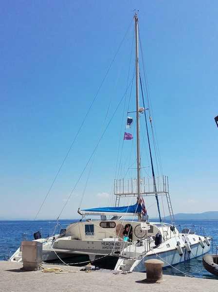 Il catamarano del Cima all'Argentario: studierà delfini, zifi, balenottere, capodogli e tartarughe