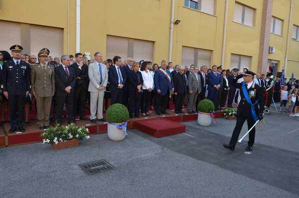 I Carabinieri celebrano i 203 anni della fondazione. Tutti i militari premiati