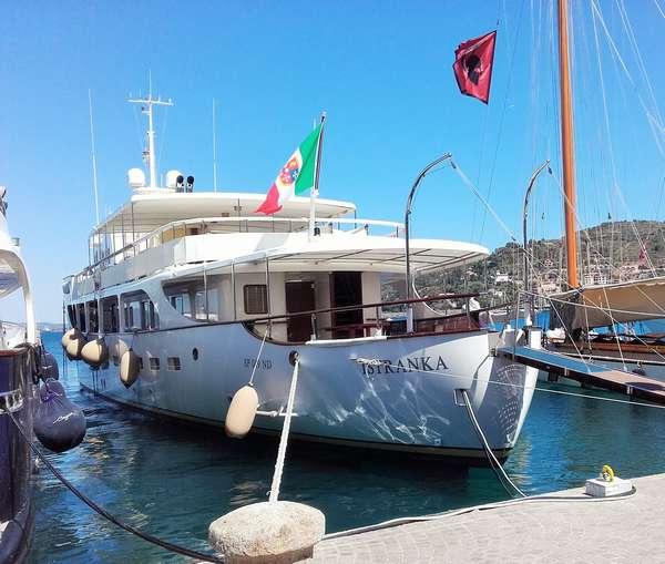 Istranka, lo yacht di Tito a Porto Santo Stefano