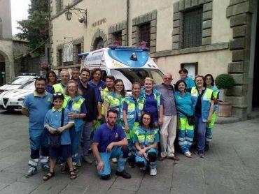 Inaugurata la nuova ambulanza della Misericordia di Santa Fiora e la nuova auto della Municipale