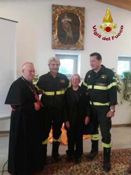 Terremoto centro Italia: i Vigili del Fuoco maremmani impegnati nel recupero di opere d'arte
