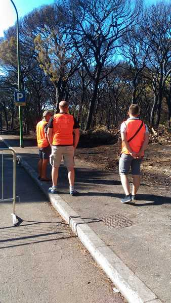 Emergenza incendi: Forza Nuova lancia le passeggiate per vigilare contro le fiamme