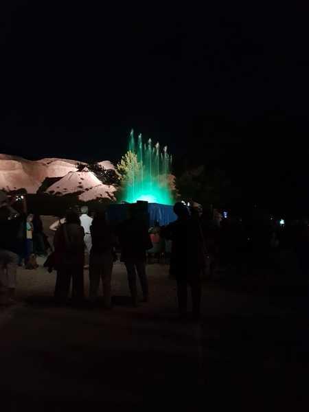 Serata a tutto vapore: spettacolo di suoni e luci alle Biancane di Monterotondo