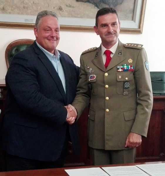 Accordo tra Comune e Savoia: valorizzati il museo e la biblioteca del Reggimento