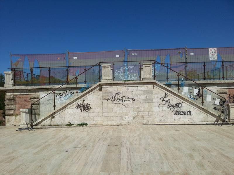 Il bastione Maiano ancora oggetto di atti vandalici