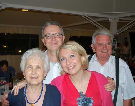 Nozze d'oro per Marcello e Marcella: 50 anni di amore nel segno della moda