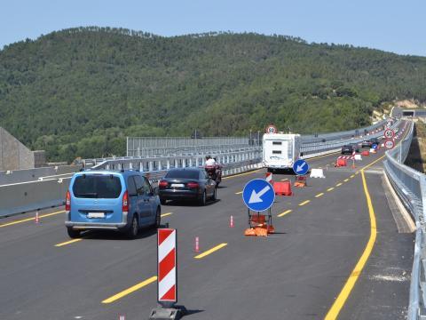 Grosseto-Siena: aperto al traffico il nuovo viadotto Farma – FOTO E VIDEO