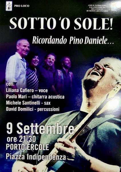 I Mari Quartet cantano Pino Daniele a Porto Ercole
