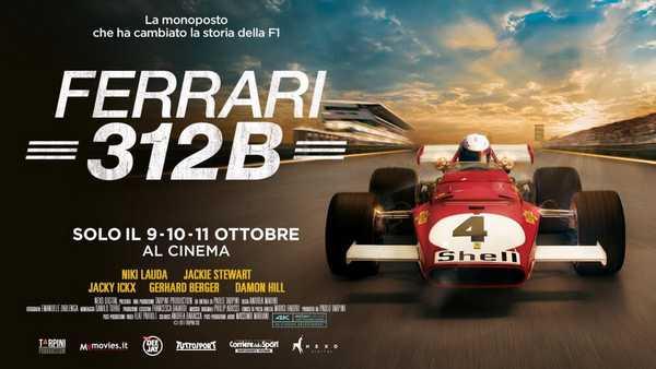"""""""Ferrari 312B"""": al cinema il docufilm del grossetano Andrea Marini"""