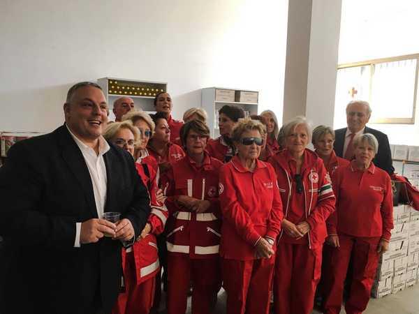 """Photo of Un nuovo centro viveri per la Croce Rossa: """"Aiuteremo ancora più famiglie bisognose"""""""