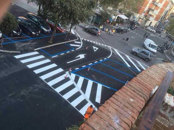 Porta vecchia: conclusi i lavori su strade e parcheggi. Prossime tappe via Manetti e via dei Lavatoi