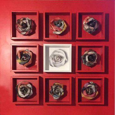 """""""Roses"""": le opere dell'artista Silvano Bavia in mostra a Grosseto"""