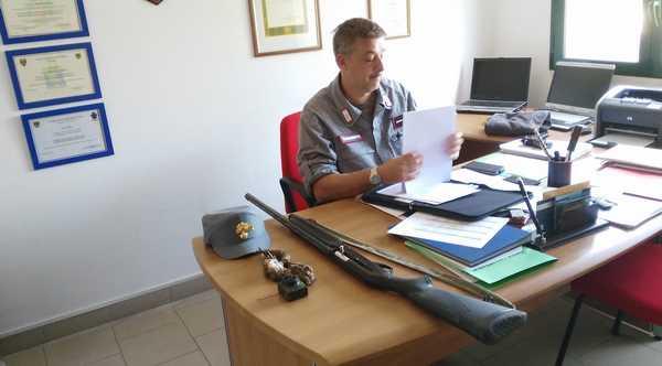 Caccia, controlli a tappeto dei Carabinieri Forestali: numerose irregolarità riscontrate