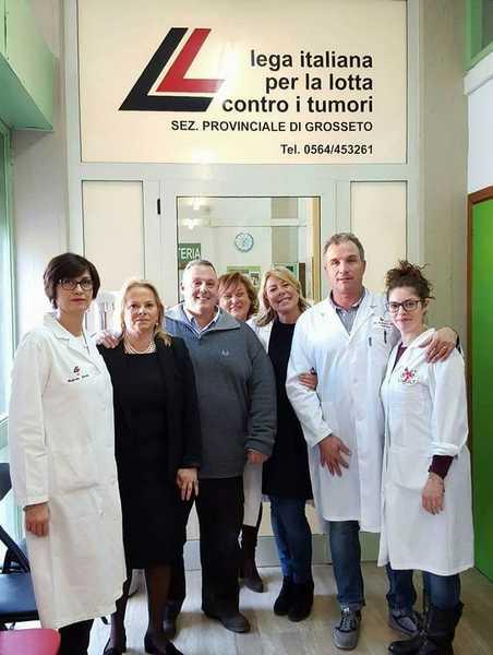 Il Comune in campo contro il tumore: contributo di 6mila euro alla Lilt