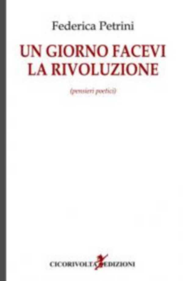 """""""Un giorno facevi la rivoluzione"""": ecco il libro della grossetana Federica Petrini"""