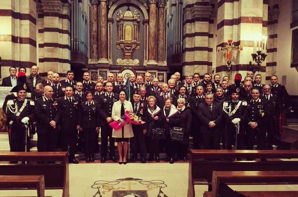 L'Arma dei Carabinieri celebra la patrona Virgo Fidelis: messa in Cattedrale