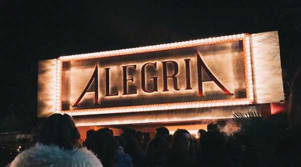 L'Alegria pronta a riaprire il tendone: doppia inaugurazione nel weekend