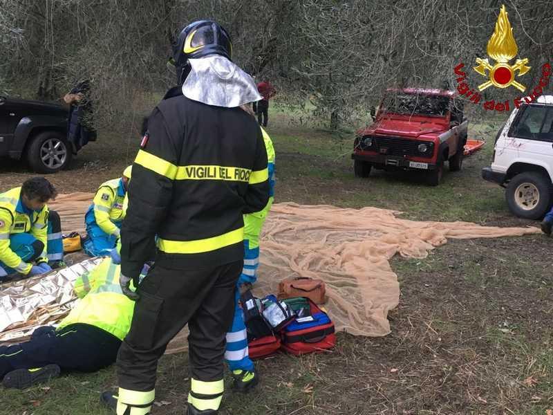 Photo of Uomo cade da un olivo: trasportato in ospedale con l'elisoccorso