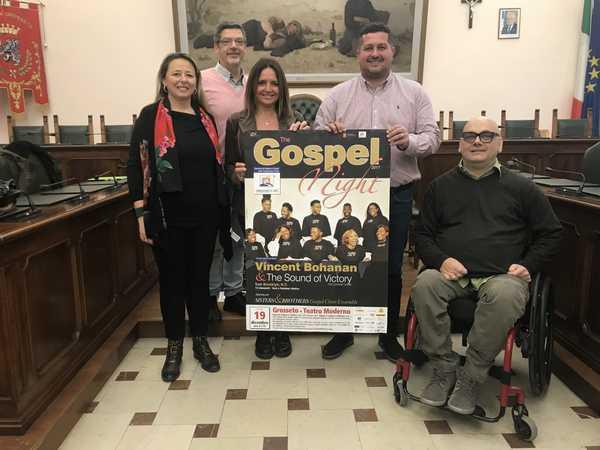 """Musica e solidarietà: torna il concerto """"The Gospel night"""" in favore della Fondazione Il Sole"""