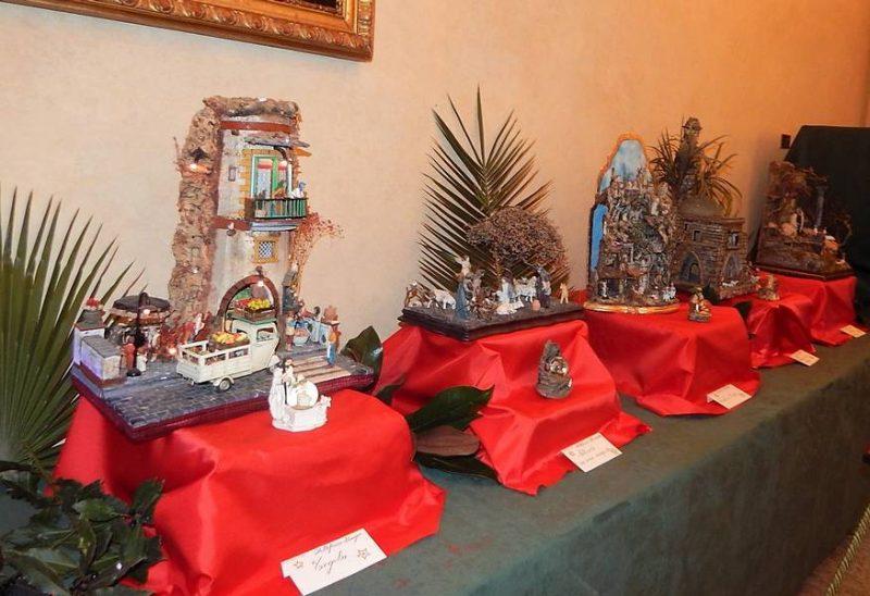 Mostra di presepi nel palazzo vescovile: oltre 3mila visitatori, raccolti 1500 euro per il Santa Elisabetta