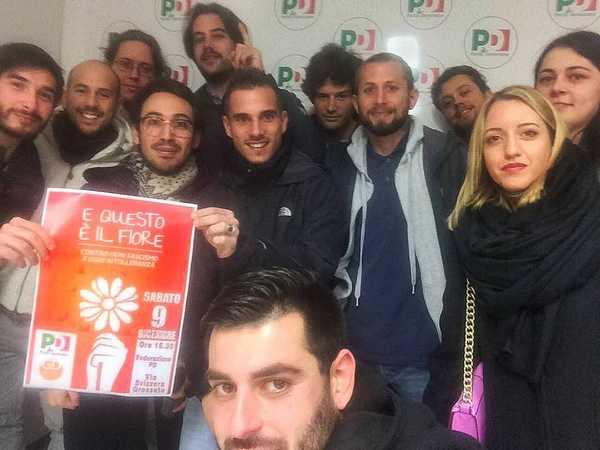 Passaggio di consegne per i Giovani democratici di Grosseto: Marchini nuovo segretario