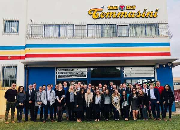 Dagli Stati Uniti a Grosseto: studenti universitari in visita ad una storica azienda maremmana