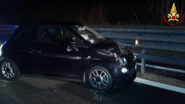 Incidente sulla Siena Grosseto: auto sbanda a Civitella Paganico