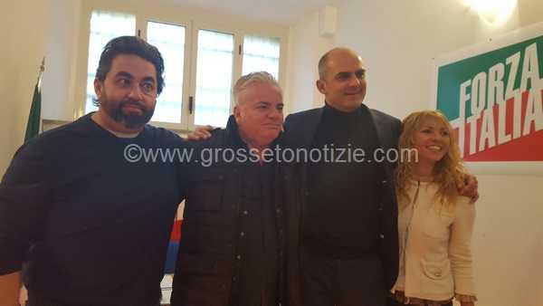 Apericena di Forza Italia per celebrare i neosindaci Cinelli e Petrucci