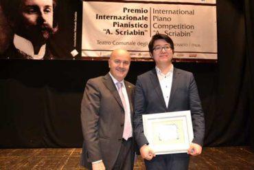 """Al via il Premio """"Scriabin"""": debutto con il concerto del vincitore dell'ultima edizione"""