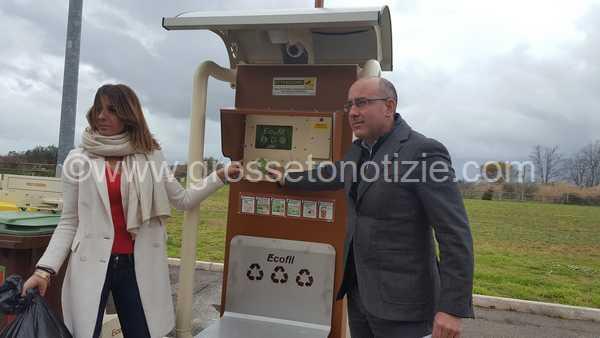 Photo of Isole ecologiche intelligenti: sei nuove postazioni tra Barbanella e Verde Maremma