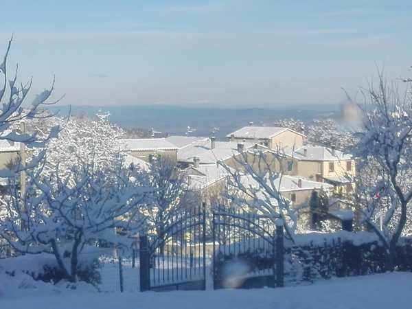 Neve in arrivo: allerta meteo arancione in gran parte della Maremma