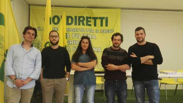 Coldiretti Giovani Impresa, eletto il comitato provinciale: Lorenzo Pavone delegato