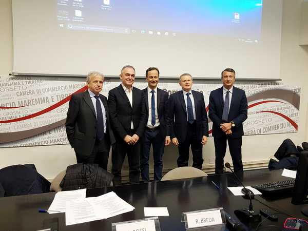 Distretto rurale della Toscana del sud: firmato il protocollo tra Regione e Camere di commercio