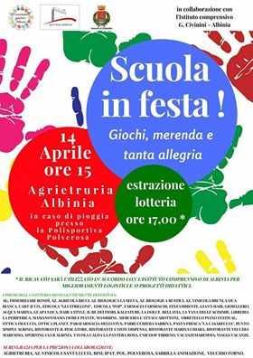 """""""Scuola in festa!"""": un pomeriggio di giochi ad Albinia dedicato ai bambini"""