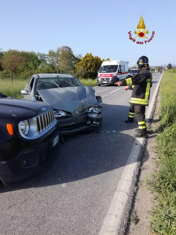 Incidente stradale a Massa Marittima: quattro feriti