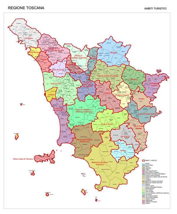 Turismo, approvate modifiche al Testo unico: divisa in due ambiti la Maremma, uniti i due versanti dell'Amiata
