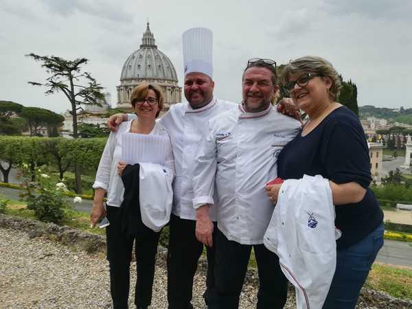 L'Unione dei cuochi toscani incontra Papa Francesco: presente anche una delegazione grossetana