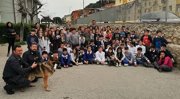 La provincia di Grosseto a scuola con la Guardia di Finanza