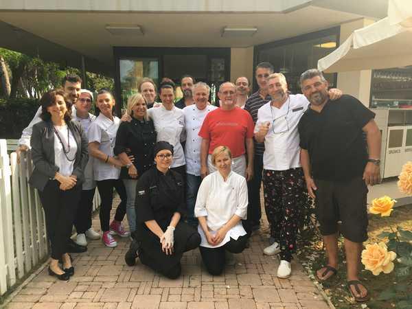 Follonica: concluso il corso di alta cucina alla presenza del sindaco