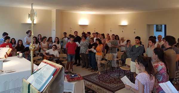 Esame di maturità: messa per gli studenti al centro giovanile Frassati