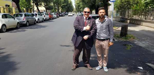Photo of Via dei Barberi, al via i lavori nei marciapiedi: scivoli per disabili e nuova pavimentazione