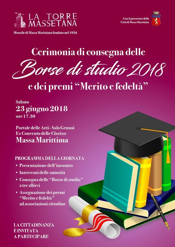 """Cerimonia di consegna delle Borse di studio de """"La Torre Massetana"""" e dei riconoscimenti """"Merito e fedeltà"""""""