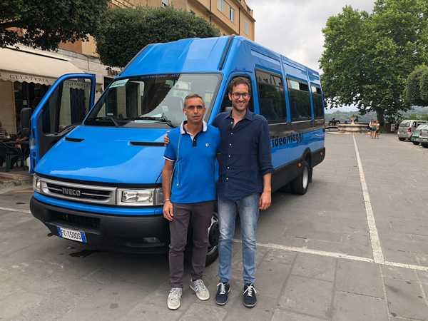 """Photo of Torna """"Bus amico"""", la navetta gratuita per residenti e turisti: previste 8 corse al giorno"""