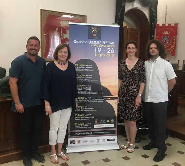 """Ecco il """"Grosseto Summer Festival"""": sette concerti di giovani musicisti nel centro storico"""