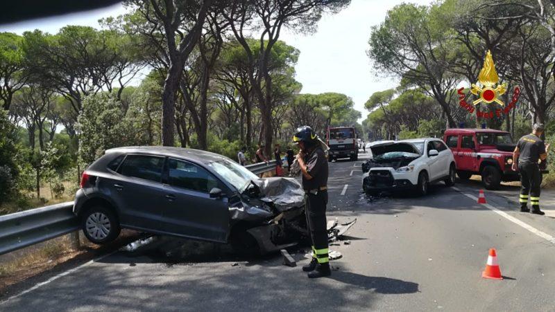 Incidente stradale sulle Collacchie: scontro tra due auto